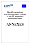 Different National Pracctices Annexes 2010